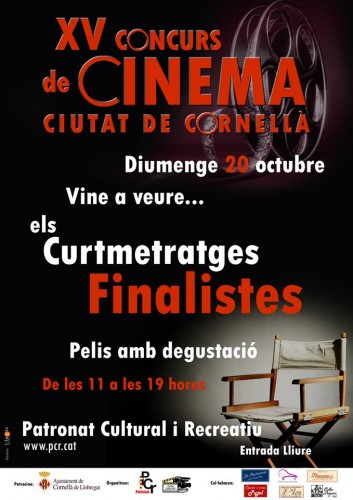 XV Concurs de Cinema Ciutat de Cornellà